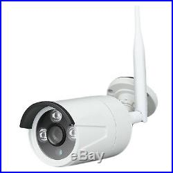 1080P 8CH Wifi Security NVR Kit 2.0MP Wireless Outdoor IP Night vision Cameras