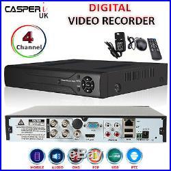 1080p HD CCTV system 4CH DVR 2.0MP Outdoor Bullet Camera kit 40M IR Night vision