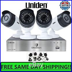 1080p HD Home Security Camera System 4CH DVR Kit HDMI Outdoor Night Vision SMART
