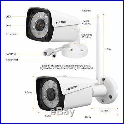 1TB Wireless WiFi 8CH NVR CCTV HD 1080P IP Camera Home Surveillance System Kit