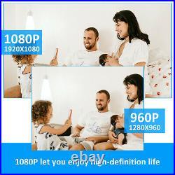 4CH 1080N AHD HDMI DVR Outdoor 3000TVL Camera Home CCTV Home Security System Kit