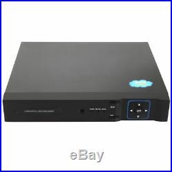 4CH 1080P AHD HDMI NVR 2MP Night Vision Home CCTV Security Camera Kit mtlc