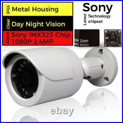 4CH 1080P CCTV DVR HDMI Outdoor 3000TVL Camera Home Video Security System Kit IR