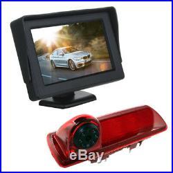 4.3 Dash Monitor Screen Brake Light Camera For Vauxhall Vivaro Renault Trafic