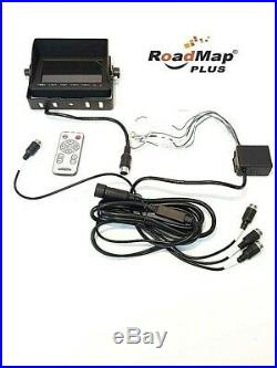 4 camera 5 inch monitor horse box trailer camera kit 4 channel quad view