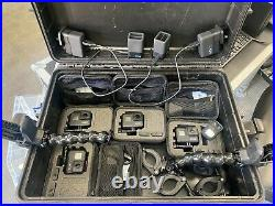 4x GoPro 7 Hero Black Edition Waterproof Action Camera kit with lots of accessor