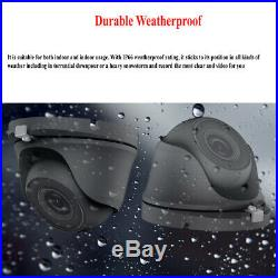 5MP 4K 1960P 1080P CCTV HD IP66 NightVision Outdoor DVR Home Security System Kit