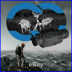 5X40 Digital Monocular Night Vision Infrared Night-Vision Kit Camera Monocu V3Q4