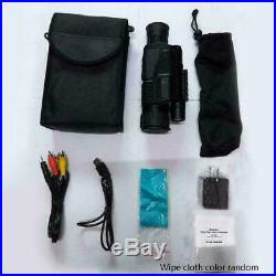 5X40 Digital Monocular Night Vision Infrared Night-Vision Kit Camera Monocu V7L8