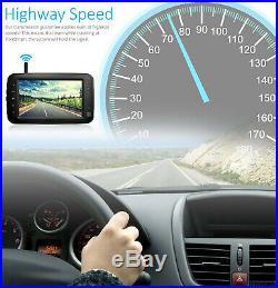 5 Monitor Digital Wireless Reversing Sony IR CCD Camera For Caravan Truck Kit