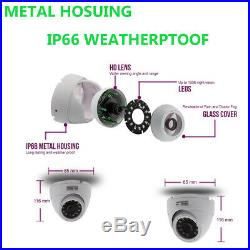 5mp Cctv System 16ch Dvr Uhd Outdoor 20m Night Vision Camera Home Security Kit
