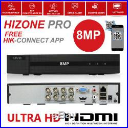 5mp Full Cctv System Dvr 4ch 8ch Hd 8mp 4k Home Outdoor Night Vision Camera Kit