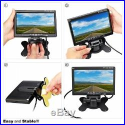 7 HD Monitor and Waterproof Rear View Reverse Camera Kit for Truck Vans Tractor