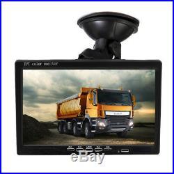 7 LCD HD Monitor DVR Car SUV Front/Rear/Left/Right View Camera Night Vision Kit