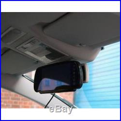7 Mirror Monitor Screen + Van Brake Light Parking Camera For Vivaro, Trafic