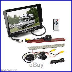 7 Monitor + Mercedes Sprinter/VW Crafter Brake Light CCD Reversing Camera Kit