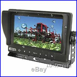 7 Reversing Camera Kit, Waterproof Monitor+1 Rear View Cam For Boat Tractor