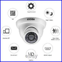 8CAM Security Camera System 720P Wired DVR Kit HD CCTV Outdoor/Indoor