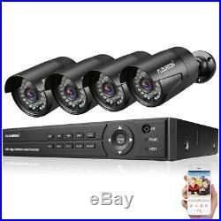8CH 1080P 1080N AHD DVR + 3000TVL 1080P 2.0MP Camera Security Kit Indoor Outdoor