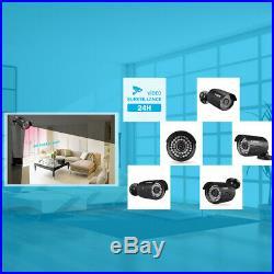 8CH 1080P 1080N DVR with 3000TVL 1080P 2.0MP Waterproof Camera CCTV System Kit