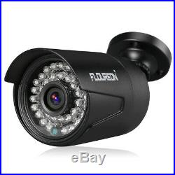 8CH 1080P DVR IR Camera Outdoor Night Vision CCTV Security System Kit With HDD