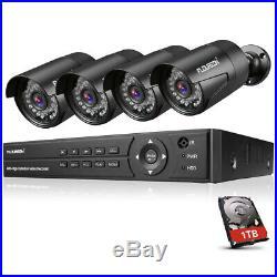 8CH 1080P DVR Outdoor 3000TVL1080P 2.0MP Camera+1TB HDD CCTV Security System Kit