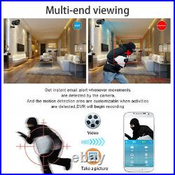 8CH 1080P NVR CCTV Camera Home Security System Kit IR Outdoor Night Vision WiFi