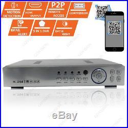 8CH CCTV DVR HD HDMI 2.4MP 1080P Camera Night Vision Home Security System Kit