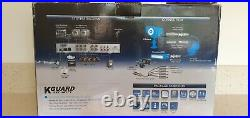 8CH Network DVR CCTV Camera Home Security System Kit IR Outdoor Night Vision