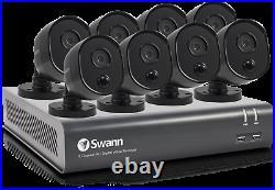 8 Channel/Camera 1080p Full HD DVR Security CCTV System for DVR-8-4480 Kit Black
