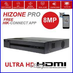 8mp 5mp Cctv System Ultra Hd 4k Dvr 4ch 8ch Exir 20m Night Vision Camera Kit