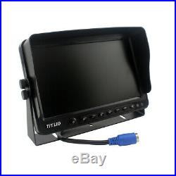 9 Rear View Monitor DVR 4 Camera Backup System Trailer RV Side View Safety Kit