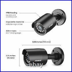 ANNKE 5IN1 8CH 5MP Lite DVR 2X3000TVL Outdoor CCTV Camera Home Security Kit 1TB