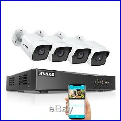 ANNKE 5MP CCTV Camera System 8CH H. 265 Pro+ DVR IP67 Home Security Kit Email IR