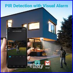 ANNKE 5MP CCTV System Dome PIR Camera Outdoor 8CH DVR Home Security System Kit