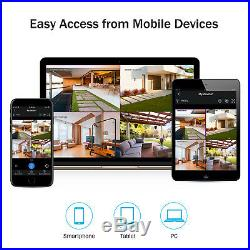 ANNKE 8CH Wireless NVR FHD 1080P CCTV Camera Remote Home Surveilalnce System Kit