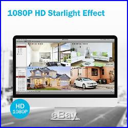 ANNKE CCTV System 3MP DVR 1080P Outdoor Vivid HD Camera Night Vision Full Kit IR