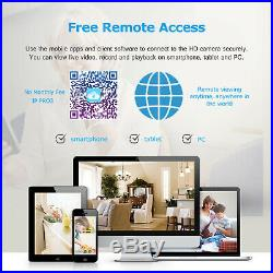 ANRAN 1080P Home Security Camera System Outdoor System 2TB HDD CCTV Wireless Kit