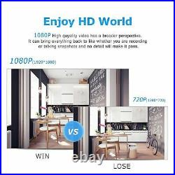 ANRAN 1080P Security Camera System Outdoor Wireless WIFI 8CH 1TB HDD NVR Kit APP