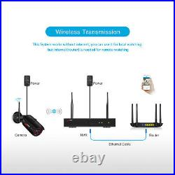 ANRAN Outdoor Home Security Camera System Wireless Waterproof 1080P CCTV Kit 8CH