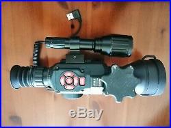 ATN X-Sight ll HD 5-20x with battery kit Air Rifle/Rimfire