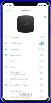 Ajax Alarm Hub2 Kit 1 Next Generation Smart Hub UK seller