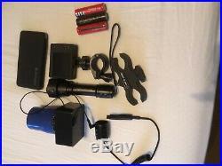 Angel eye nitesite night vision ad on scope kit with IR torch DVR recording
