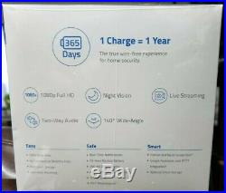Anker eufyCam IP67 Wireless HD Home Security 2-Camera Kit T88031D1 Night Vision