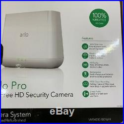 Arlo Pro Digital Wireless Outdoor 4-Pack Security Camera Kit with Night Vision