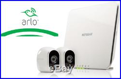Arlo Smart Home 2 HD Security Camera Kit, Wire-Free, Indoor/Outdoor Night Vision