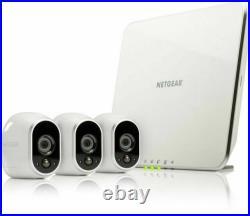 Arlo Smart Home 3 Hd Security Camera Kit Netgear Vms3330-100eus New