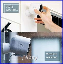 Arlo Ultra 4-cam 4k (vms5440) Rrp£1150 Smart Home Security Cctv Wi-fi White Kit
