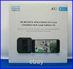 Blink XT2 Outdoor/Indoor Smart Security Camera System, 3 camera kit