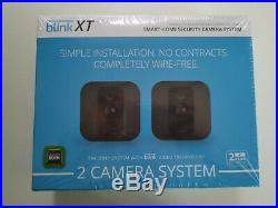 Blink XT Home Security 2 Camera Kit Motion Detection Night Vision Battery SEALED